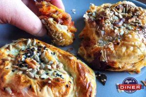 Börek mit KartoffelFüllung und sucuk