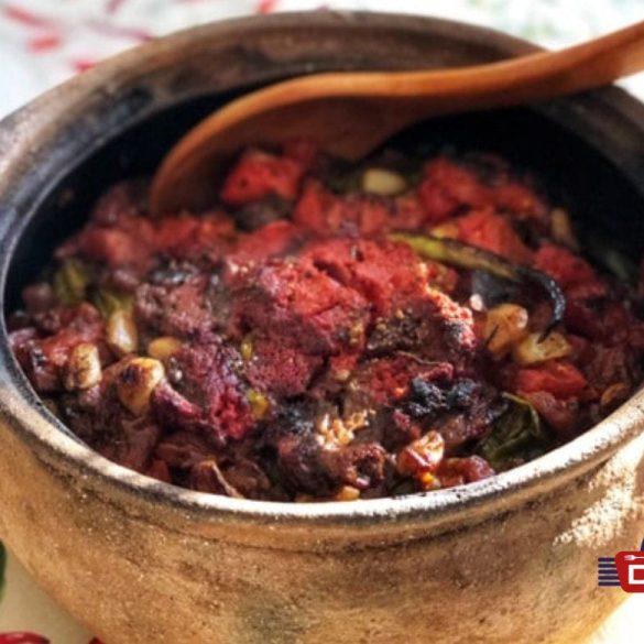 Güvec Tarifi - Eintopf mit Fleisch