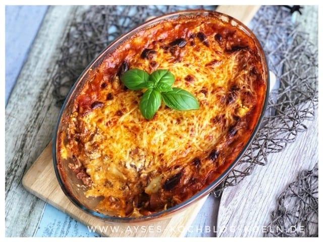 Leichte Lasagne Türkischer Art