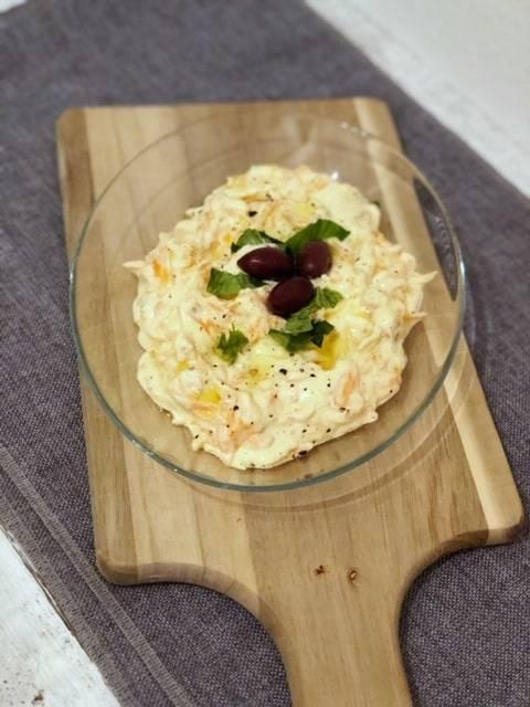 Türkischer Karottensalat mit Joghurt
