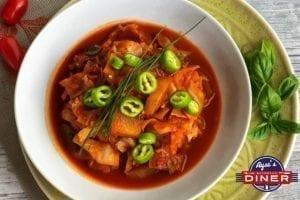 Vegetarische Gemüsepfanne