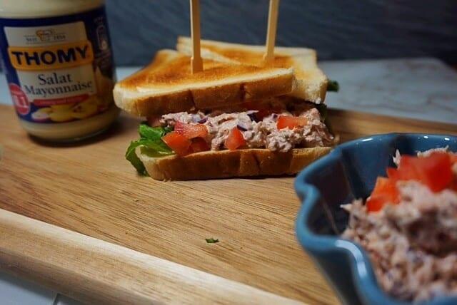 Thunfisch Sandwich Rezept