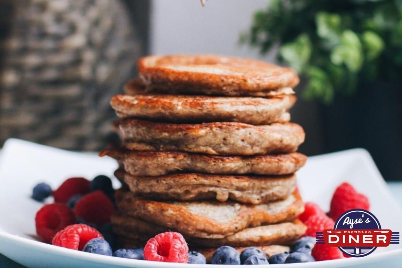 Gesunde Pancake ohne Ei