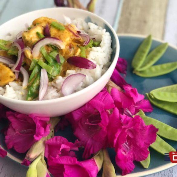 Hähnchen mit Curry