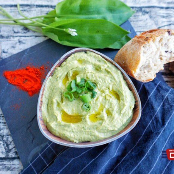 Hummus Rezept mit Avocado