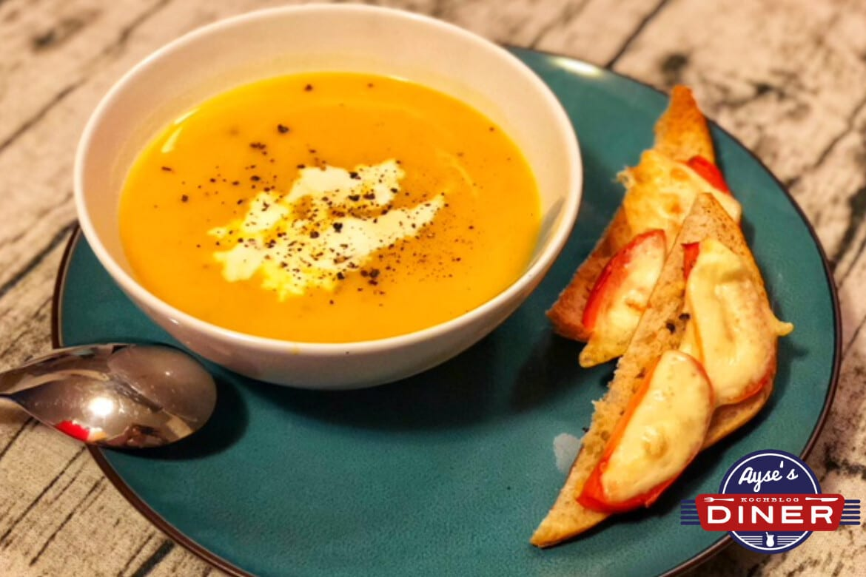 Kartoffel Kürbis Creme Suppe