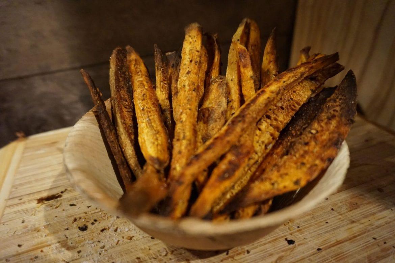 Knusprige Süßkartoffel Pommes