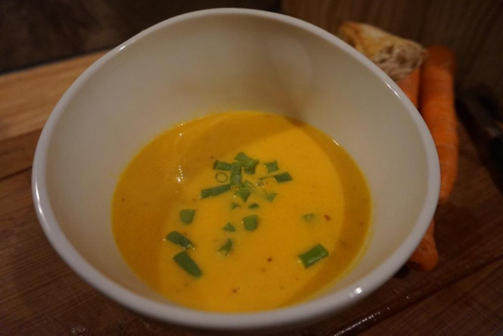 Möhrensuppe mit Ingwer und Orange