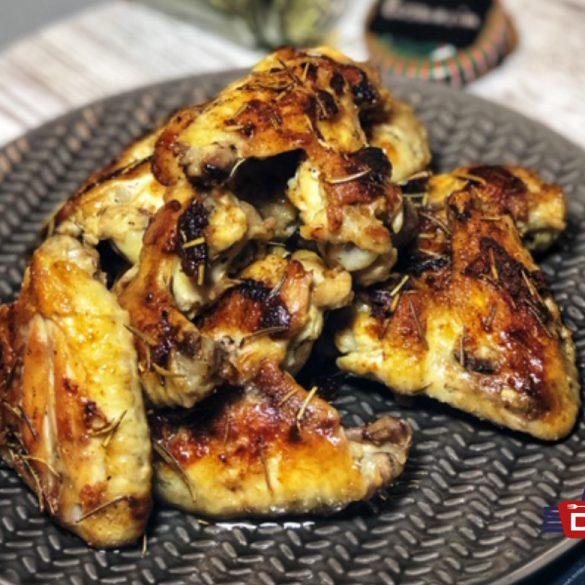 Rosmarin-Buttermilch Chicken Wings