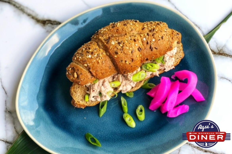 Saftiges Thunfisch Sandwich