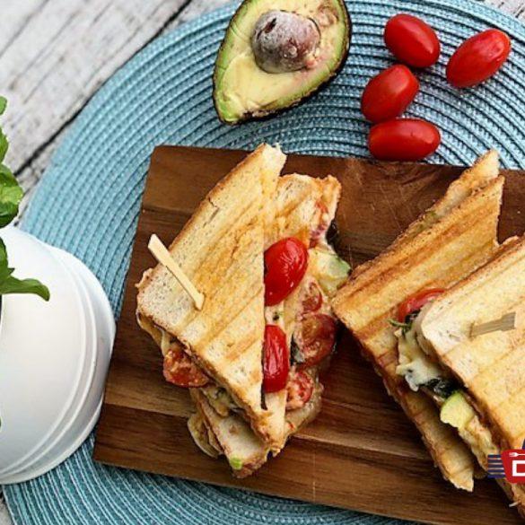 Sandwich mit Avocado