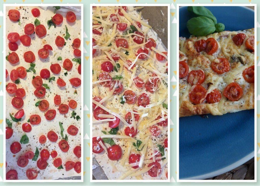 Schnelle Tomaten Tarte