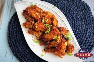 Süß Saure Marinade Chicken Wings