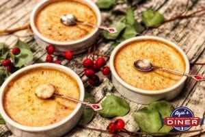 Türkischer Milchreis aus dem Ofen