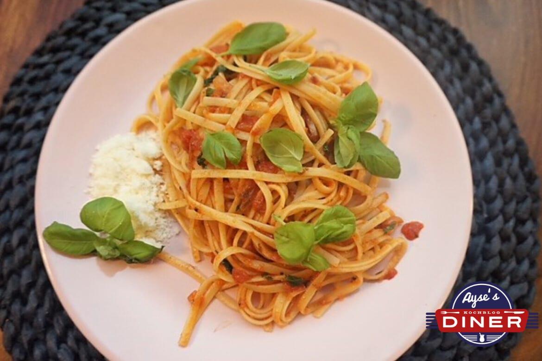 Vegane Spaghetti Napoli