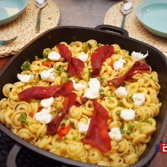 schnelle Pasta Bruschetta