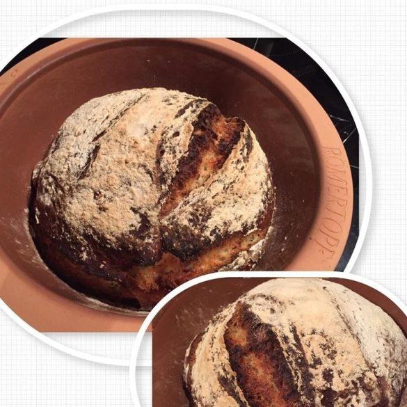 Brot mit Mohn und Joghurt