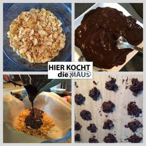 Choco-Crossis selbstgemacht mit Cornflakes