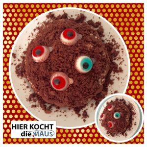 Grusel-Halloween Kuchen