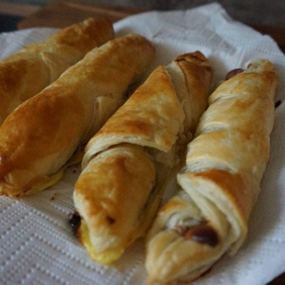 Kinderriegel Croissants
