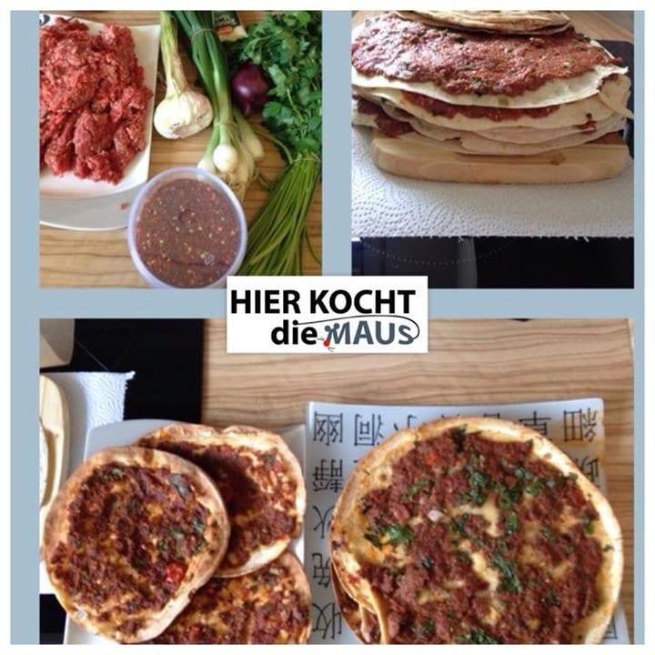 Schnelle Falsche Türkische Pizza-Lahmacun