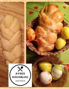 einfacher Oster - Hefezopf