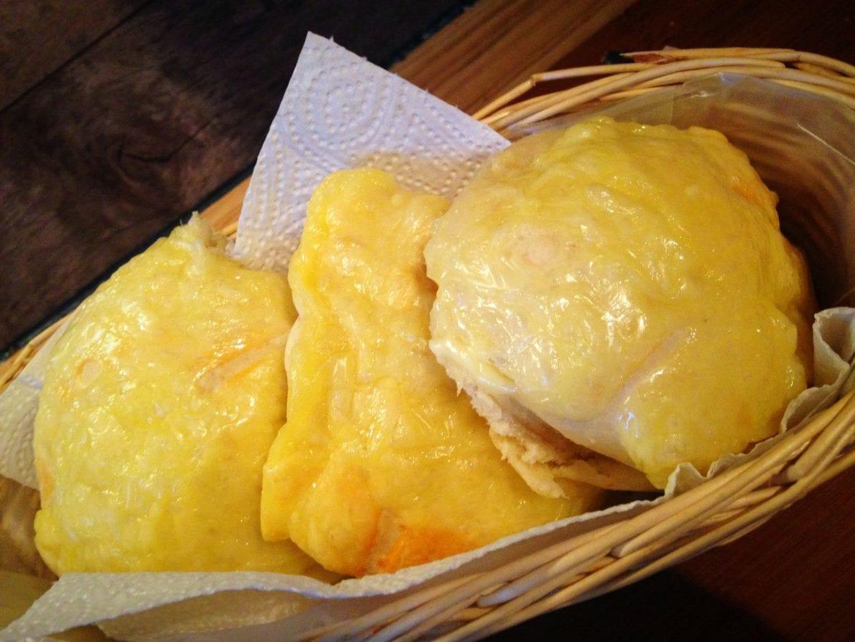 saftige Käsebrötchen