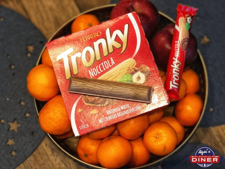 Wie schmeckt das Ferrero Tronky