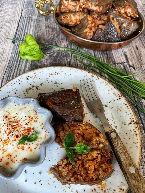 Gefüllte Auberginen türkisch