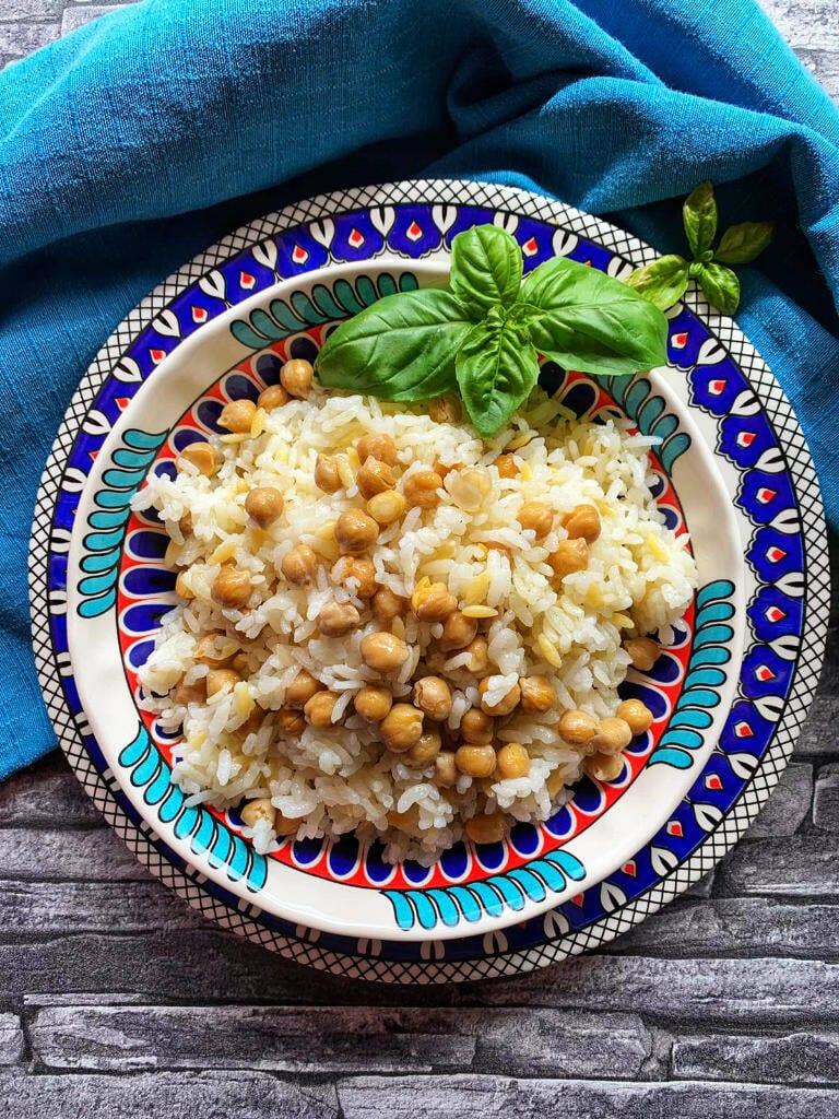 Reis mit Kichererbsen türkisch