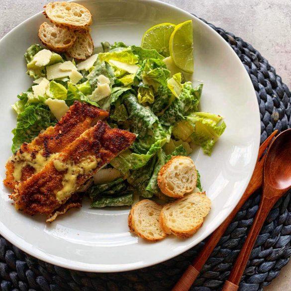 caesars salad rezept klassisch