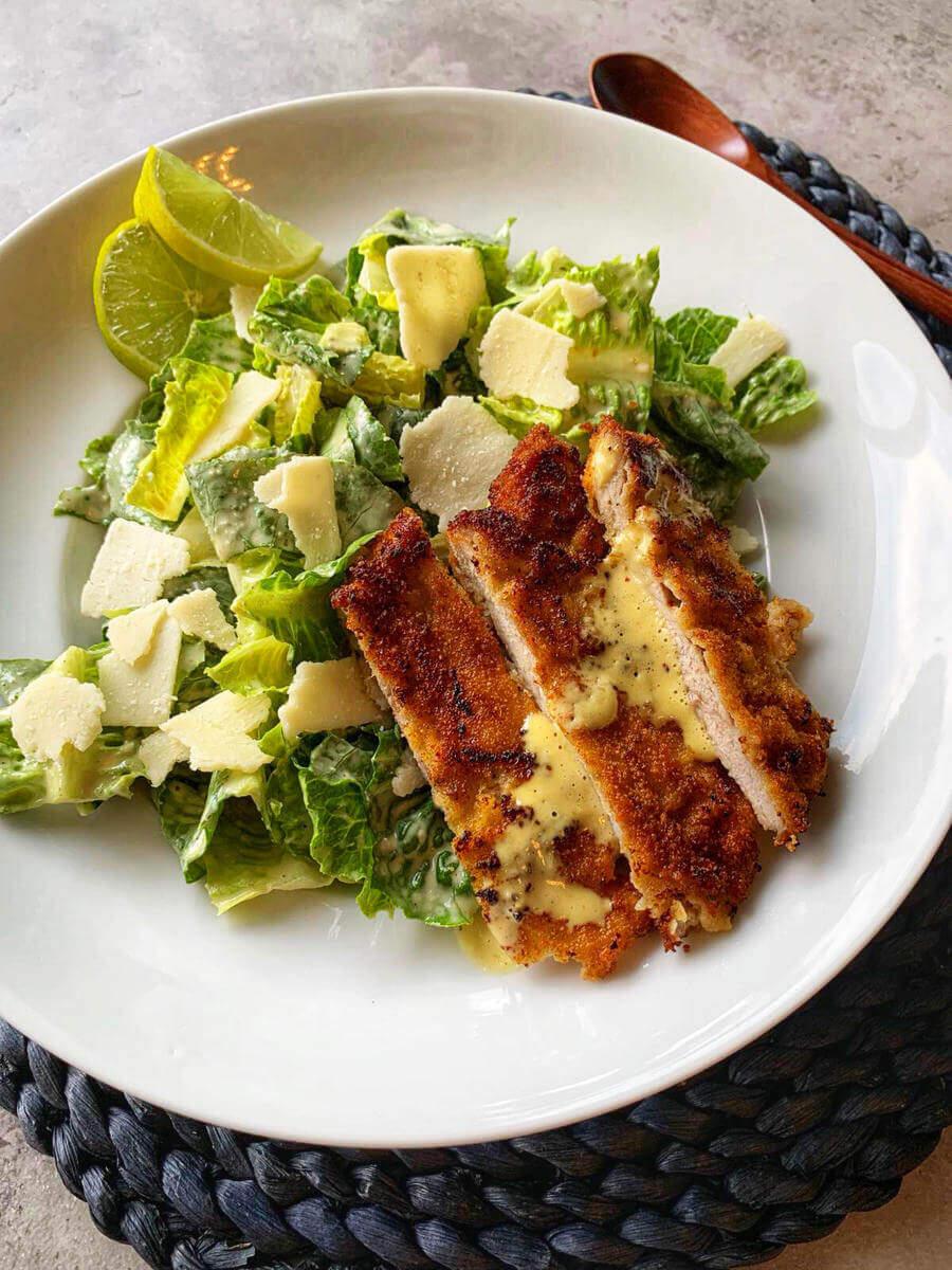 caesar salad rezept klassisch