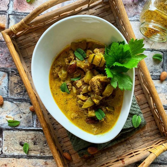 einfaches Thai Curry Haehnchen