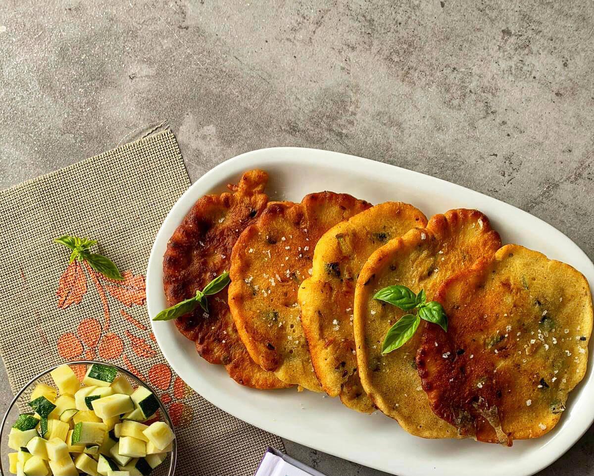 Kartoffel Zucchini Puffer