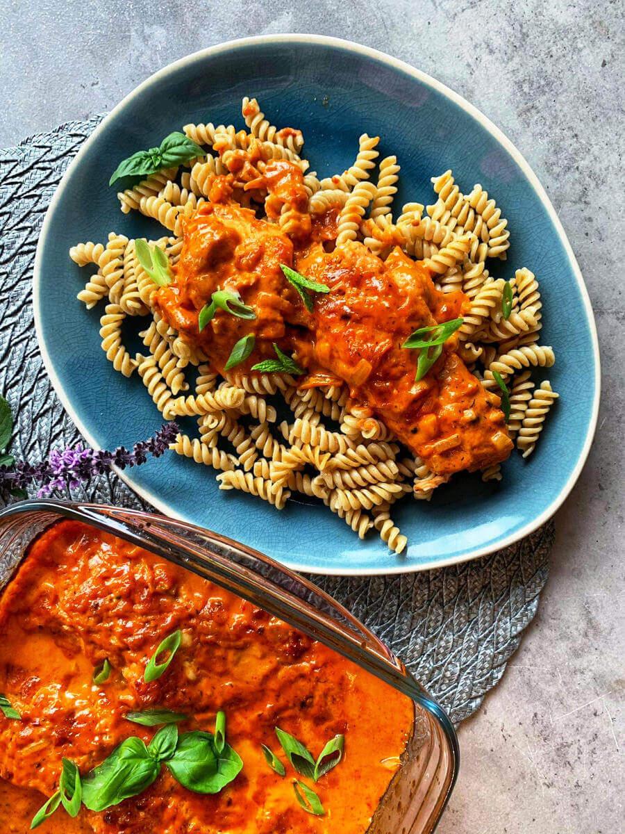 pasta mit lachs italienisch