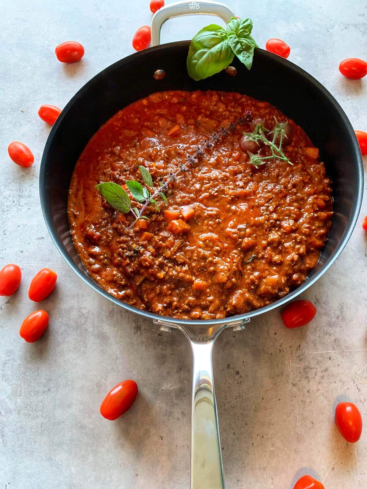 Bolognese Sauce selber machen
