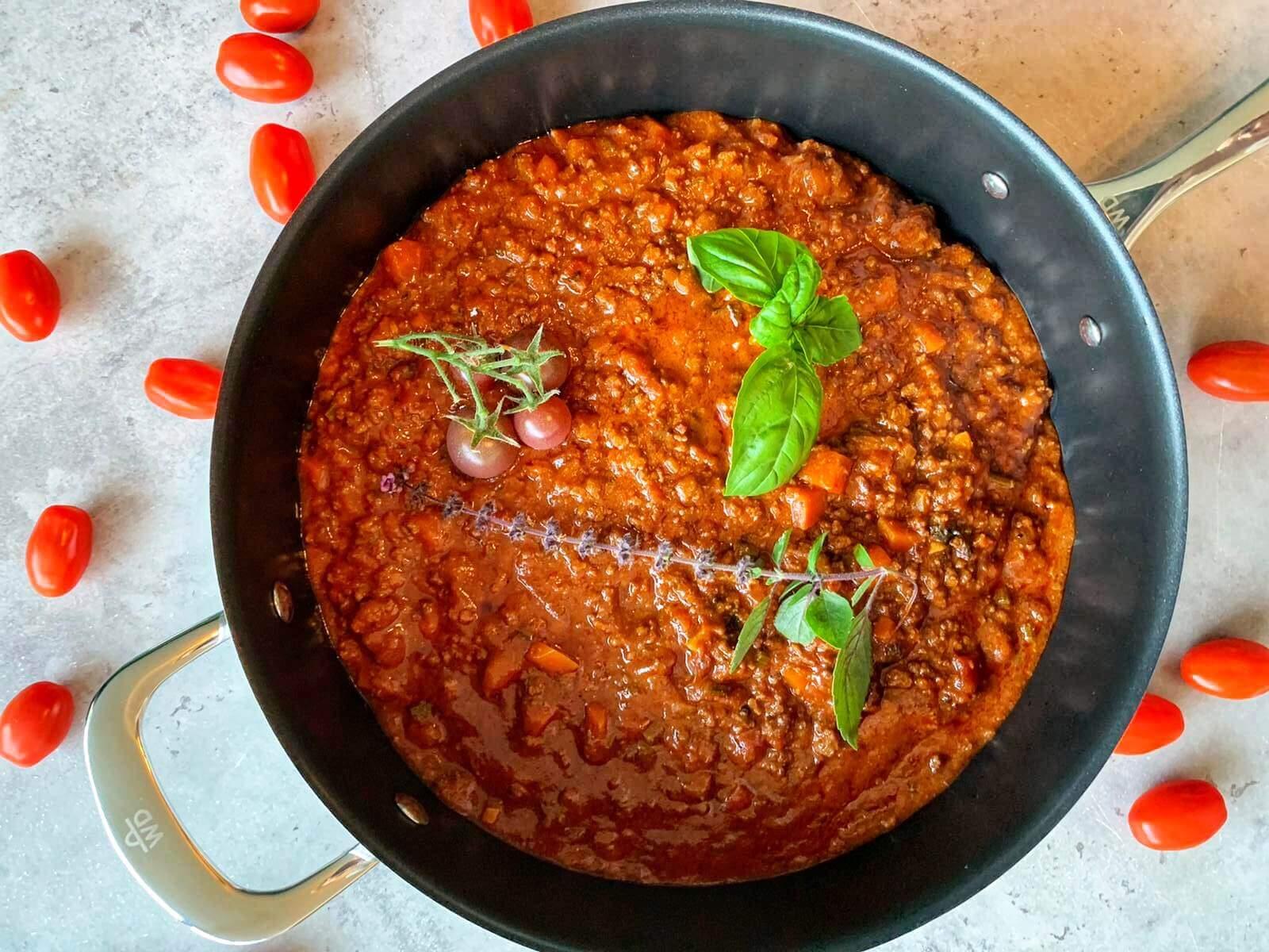 bolognese Original rezept schnell mit rotwein